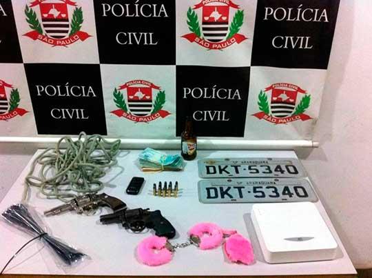 Polícia Civil de Araraquara prende sequestrador que mantinha filho de empresário em cativeiro
