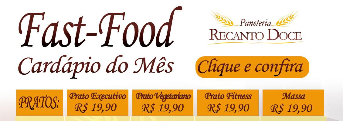 Fast-Food Paneteria Recanto Doce
